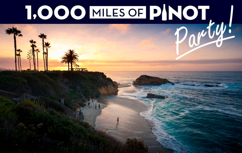 1,000 Miles of Pinot Party Laguna Beach