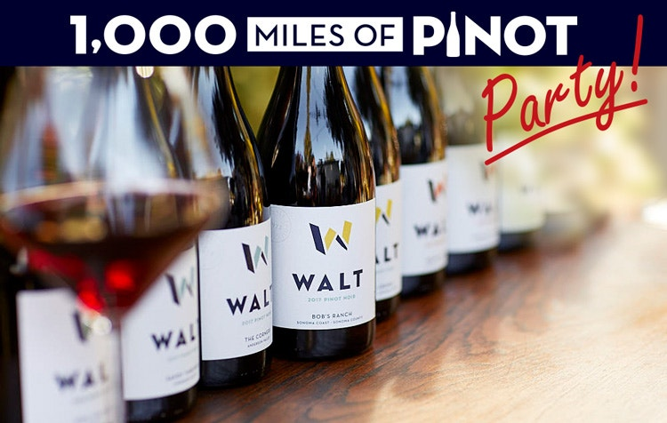 WALT 1,000 Miles of Pinot Party