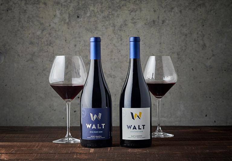 2017 Sierra Mar and 2017 Gap's Crown Pinot Noir