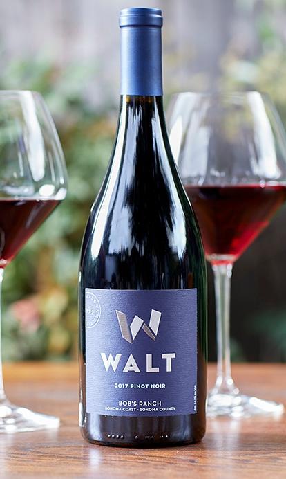 2017 WALT Bob's Ranch Pinot Noir bottle