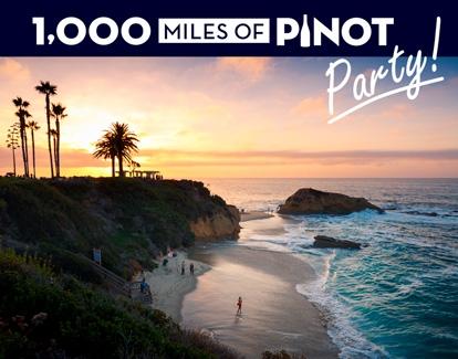 1,000 Miles of Pinot Party Laguna Beach