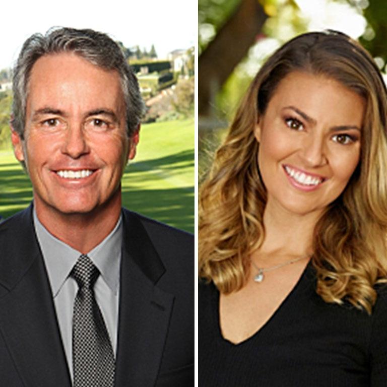 Ian Baker Finch and Amanda Balionis