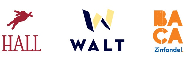 Cobranded Logo Header featuring HALL, WALT & BACA Wines image