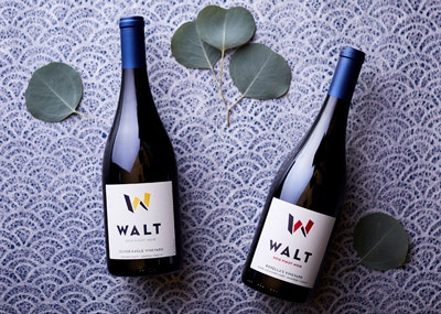 Vintner's Club 1st Quarter Wines. 2019 Silver Eagle Pinot Noir & 2018 Rosella's Pinot Noir bottles image