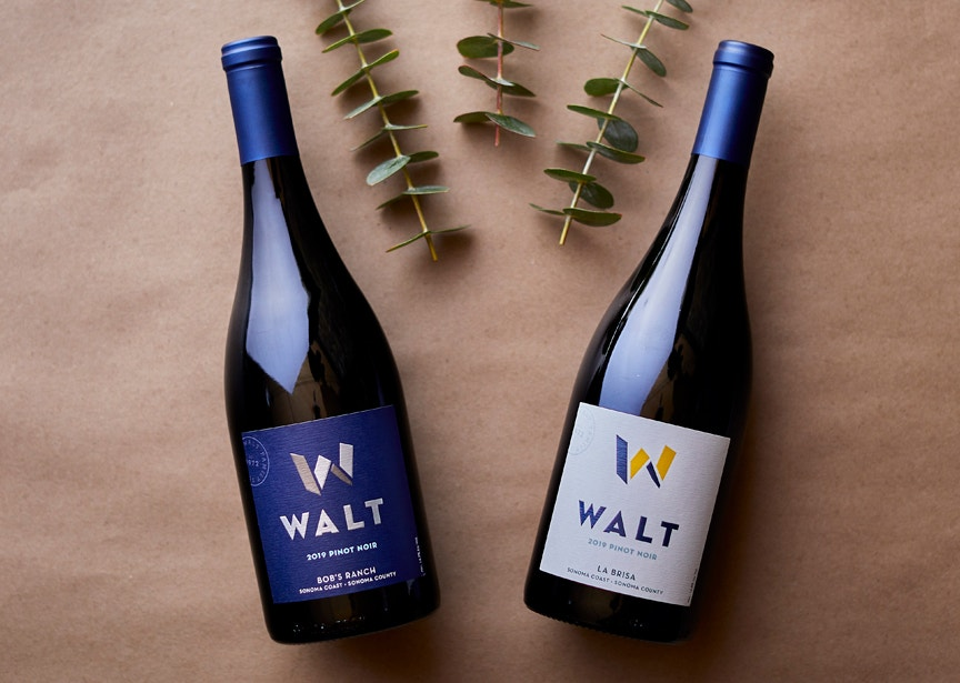 Appellation Club 2nd Quarter wines. 2019 Bob's Ranch Pinot Noir & 2019 La Brisa Pinot Noir bottles image