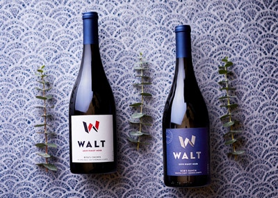Vintner's Club 2nd Quarter wines. 2019 Rita's Crown Pinot Noir & 2019 Bob's Ranch Pinot Noir bottles image