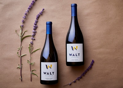 Appellation Club 3rd Quarter Wines. 2019 Sonoma Coast Chardonnay & 2019 Gap's Crown Pinot Noir bottles image