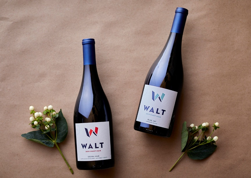 Appellation Club 4th Quarter Wines. 2019 Sierra Mar Pinot Noir & 2019 Blue Jay Pinot Noir bottles image