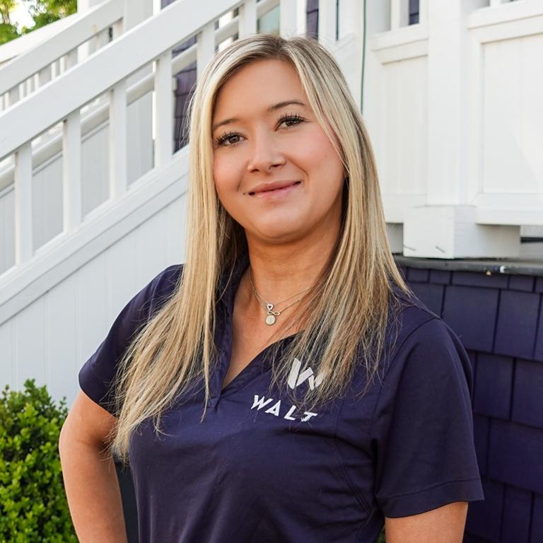 A photo image of WALT Oxbow staff member, Paige Johnson