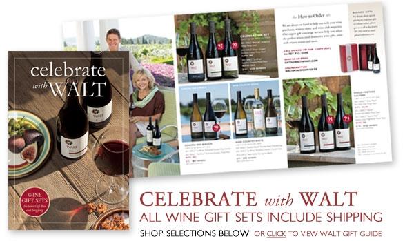 WALT wine gift sets - free shipping