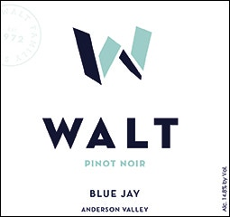 WALT Blue Jay Pinot Noir Front Label Icon Image