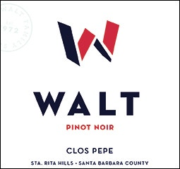 WALT Clos Pepe Sta. Rita Hills Pinot Noir Front Label Icon Image