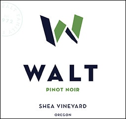 WALT Shea Willamette Valley Pinot Noir Front Label Icon Image