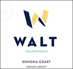 WALT Sonoma Coast Chardonnay Front Label Icon Image