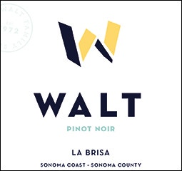WALT La Brisa Pinot Noir Front Label Icon Image